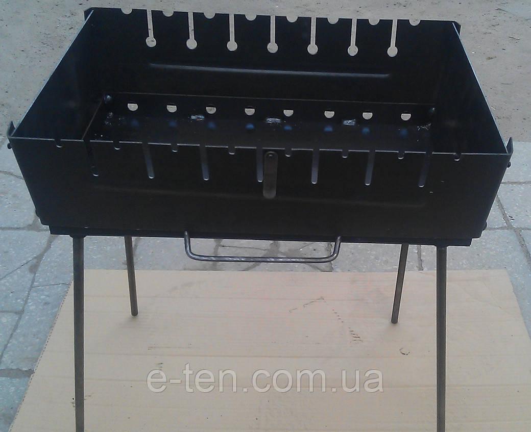 Раскладной мангал-чемоданчик на 8 шампуров