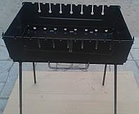 Раскладной мангал-чемоданчик на 8 шампуров , фото 1