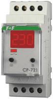 Реле напряжения ДПФ-3М (CP-721) 150-450В 30А 2S однофазное микропроцессорное