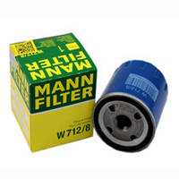 Фильтр масляный SCUDO JUMPY EXPERT 1.9D/TD 96-06 MANN W712/8