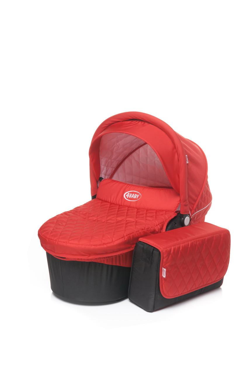 Люлька к коляске 4Baby Atomic Gondola красный
