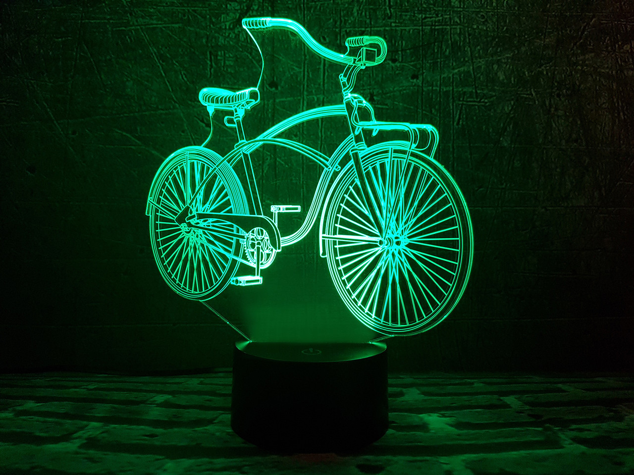 "3D ночник ""Велосипед "" 3DTOYSLAMP, фото 1"