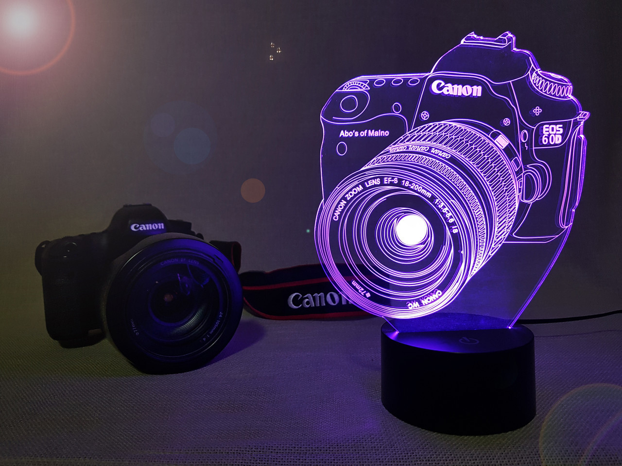 "3d светильник ""Фотоаппарат"" 3DTOYSLAMP, фото 1"