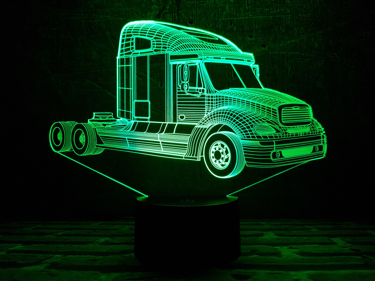 """Сменная пластина для 3D светильников """"Автомобиль 9"""" 3DTOYSLAMP"""