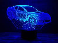 """Сменная пластина для 3D светильников """"Автомобиль 6"""" 3DTOYSLAMP, фото 1"""