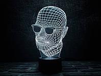 """Сменная пластина для 3D светильников """"Невидимка"""" 3DTOYSLAMP, фото 1"""
