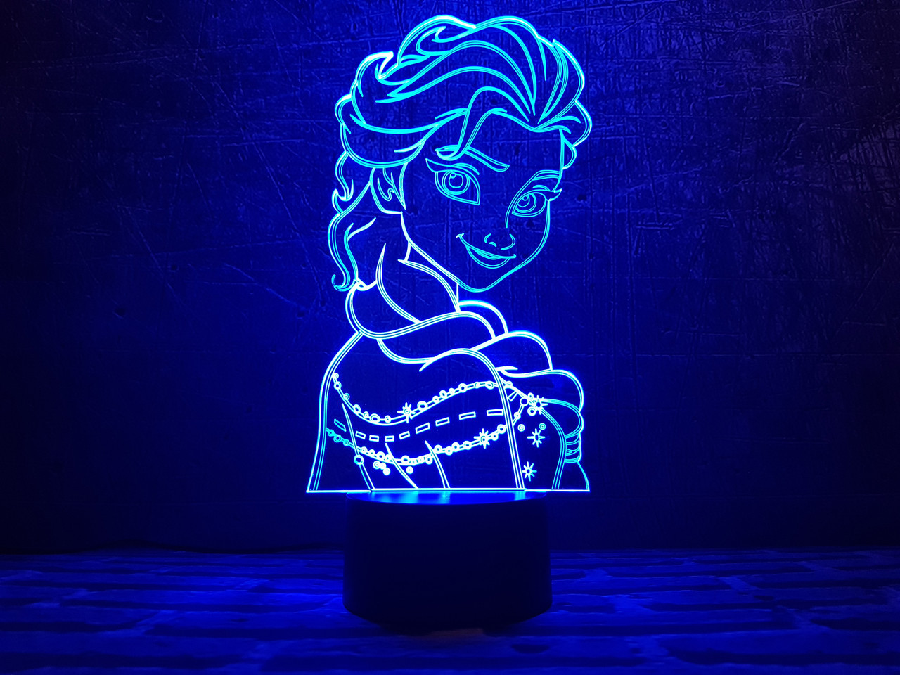 "Сменная пластина для 3D ламп ""Холодное Сердце 2"" 3DTOYSLAMP"