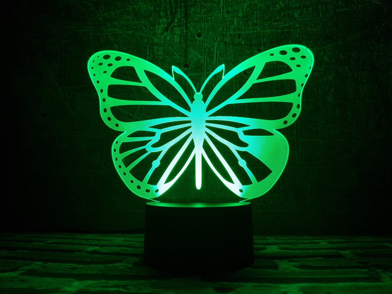 "Сменная пластина для 3D ночника ""Бабочка 2"" 3DTOYSLAMP"