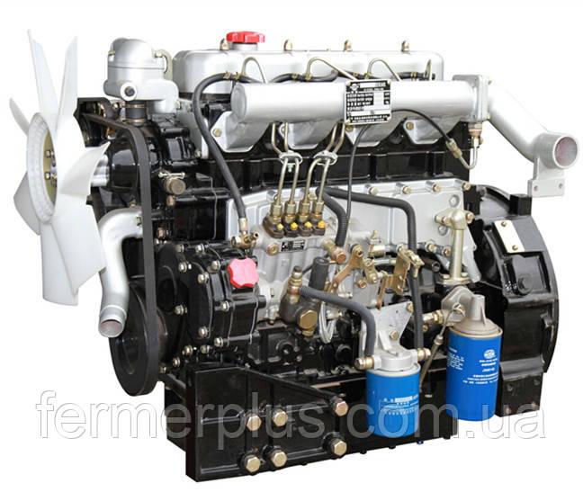 Дизельный двигатель ДТЗ QC495T50 (45,0 л.с.,, электростартер, 4 цилиндра)