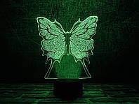 """Детский ночник - светильник """"Бабочка"""" 3DTOYSLAMP, фото 1"""