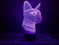 """Детский ночник - светильник """"Кошечка"""" 3DTOYSLAMP, фото 1"""