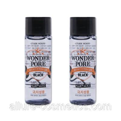 Тоник для очищения пор Etude House Wonder Pore Freshner toner Black пробник 25мл