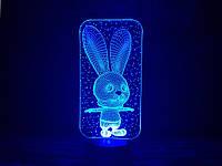"""Детский ночник - светильник """"Зайчик"""" 3DTOYSLAMP, фото 1"""