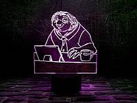 """Детский ночник - светильник """"Блиц"""" 3DTOYSLAMP, фото 1"""