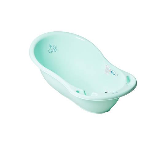 Ванночка со сливом маленькая 86 см Кролики Бирюзовый, фото 2