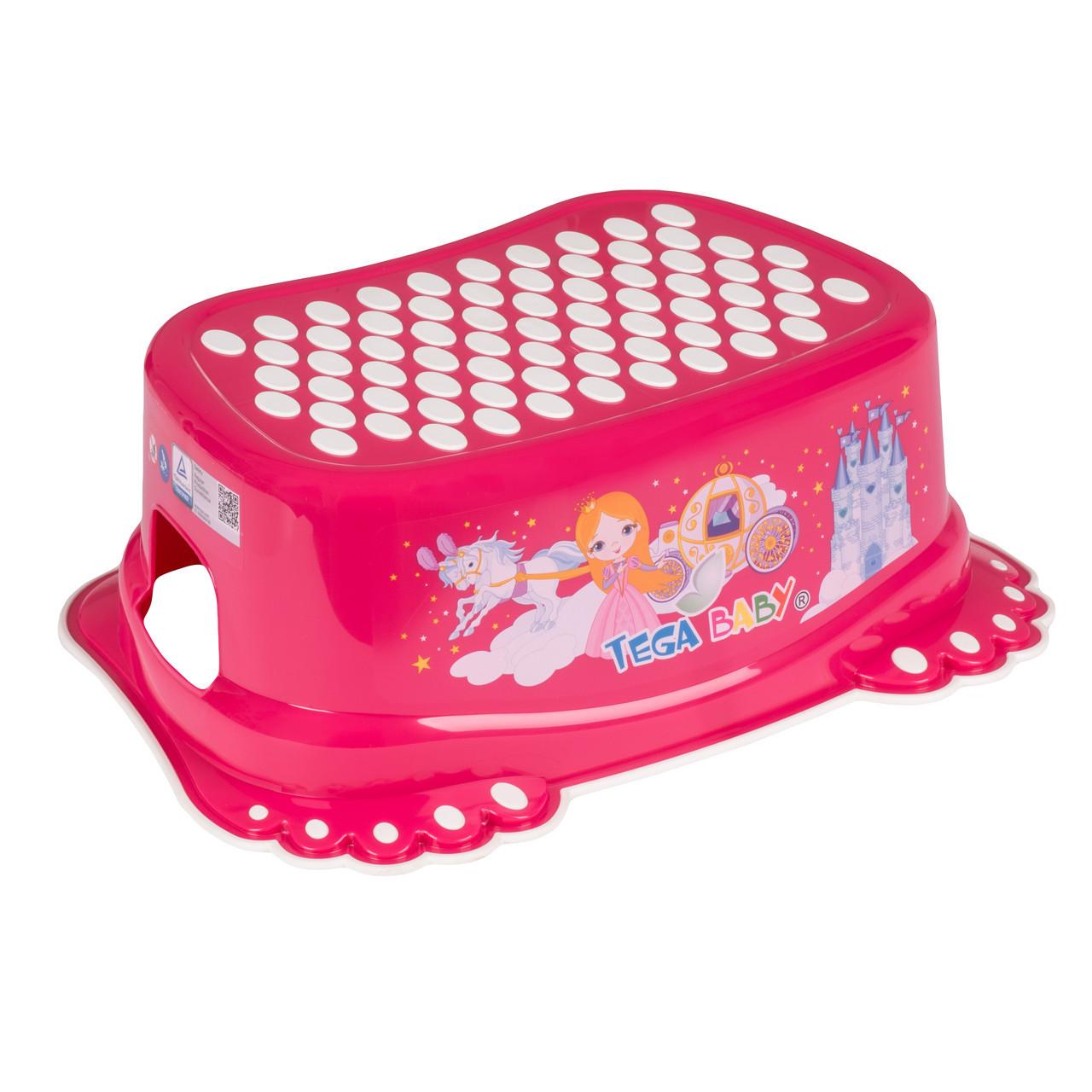Подставка для ног Кролики Tega Little Princess Розовый