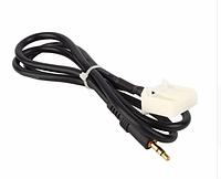 Aux кабель Toyota 3,5 мм AUX аудио радио наушники MP3 плеер телефон для Toyota  Мужской разьем, фото 1