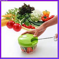 """Ручной измельчитель для резки овощей """"Nicer Dicer Plus Speedy Chopper LY-606"""" (Найсер Дайсер Плюс), фото 1"""