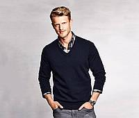 Теплый свитер пуловер с V-образным вырезом Tchibo Германия XL 56/58(UKR)