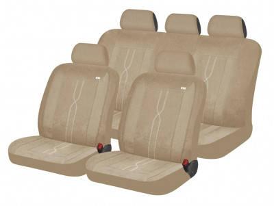 Автомобильные чехлы на сиденье Hadar Rosen LEADER Бежевый 10407, фото 2