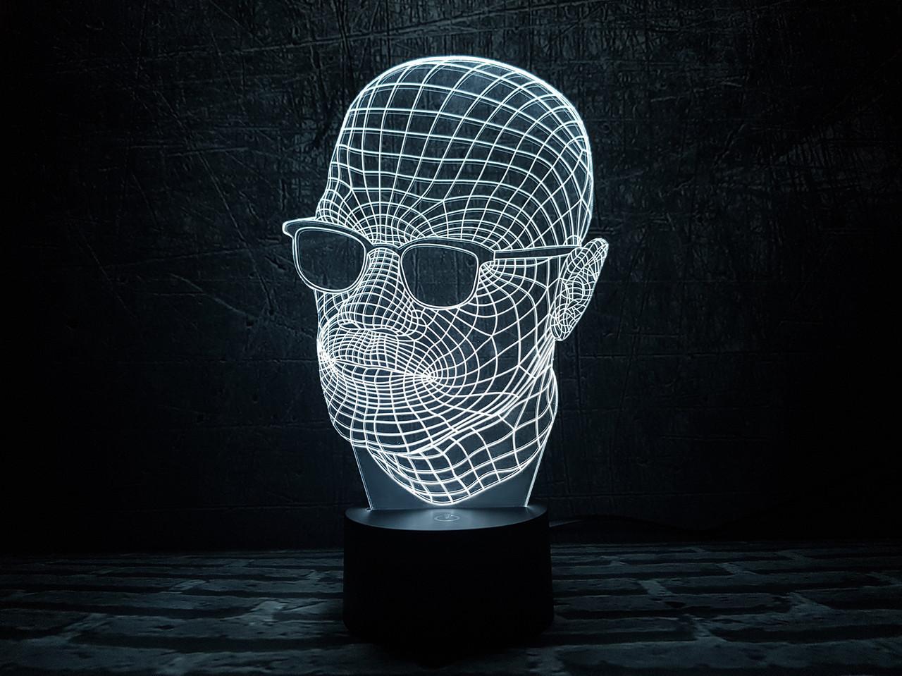 """Детский ночник - светильник """"Невидимка"""" 3DTOYSLAMP"""
