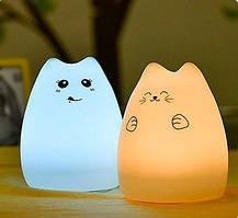 """Детский ночник - светильник """" Веселый котенок"""" 3DTOYSLAMP"""