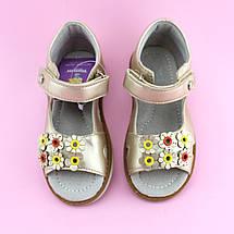 Босоножки для девочки Золотые Цветы Том.м размер 20,21,24,25, фото 3