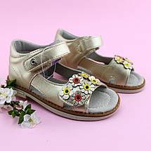 Босоножки для девочки Золотые Цветы Том.м размер 20,21,24,25, фото 2