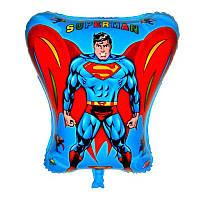 """Шар фигурный """"Superman"""". Размер: 48х43см"""