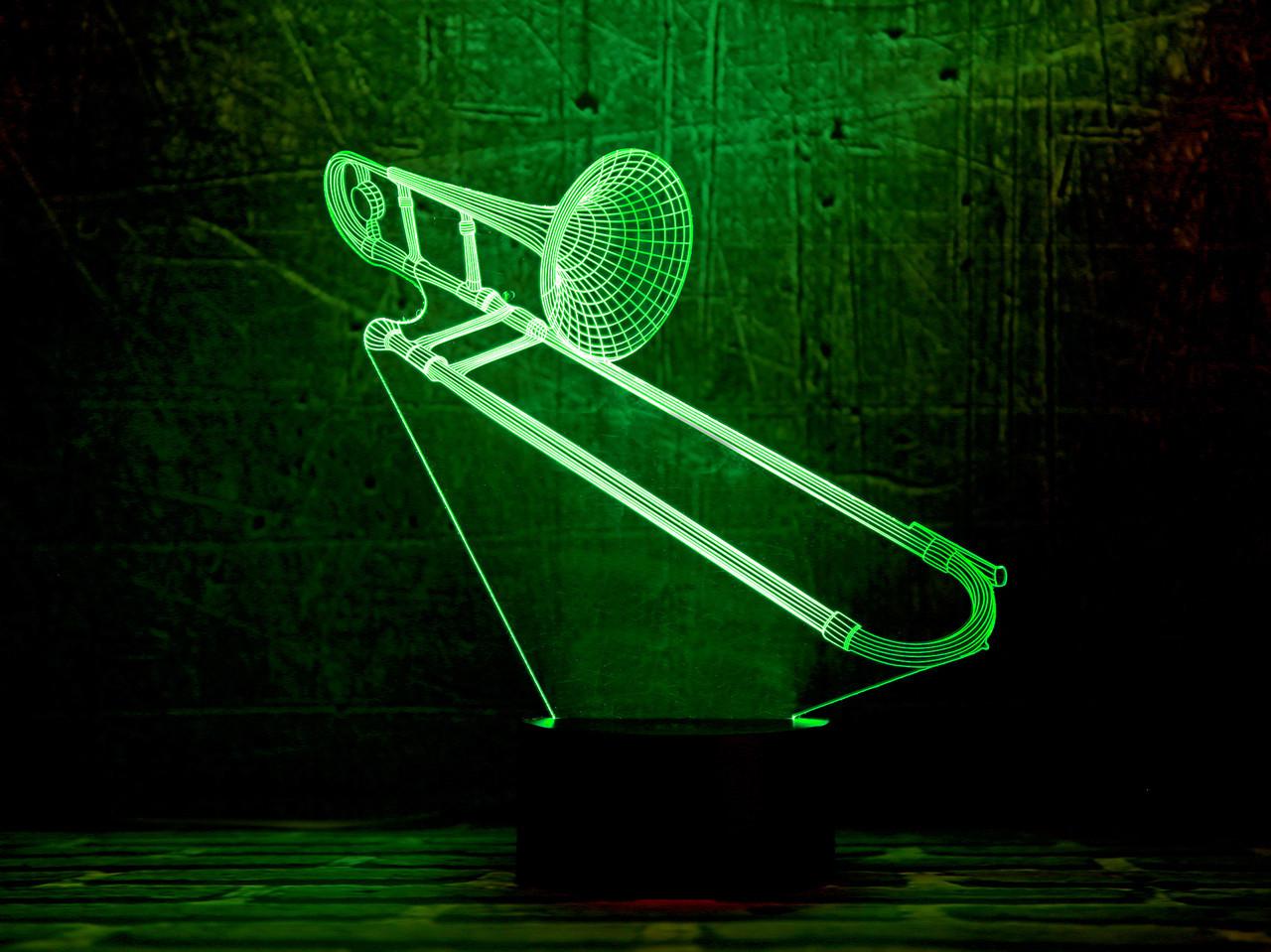 "3D светильник ""Труба 3 "" 3DTOYSLAMP"