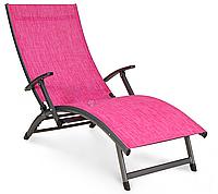 Лежаки для дачи Relax фуксия, фото 1