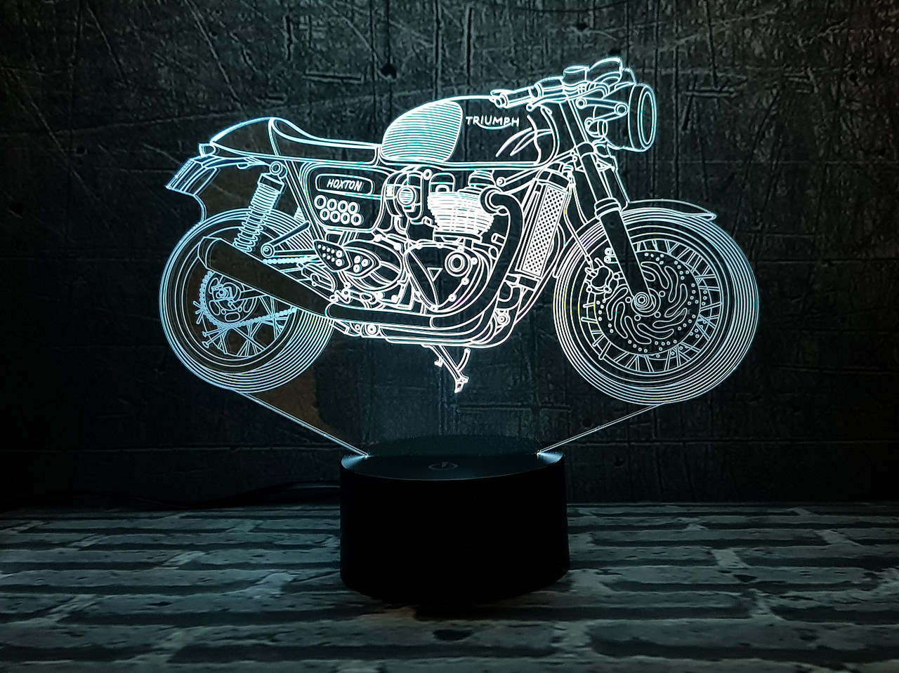 "3D Светильник ""Мотоцикл 7 "" 3DTOYSLAMP"