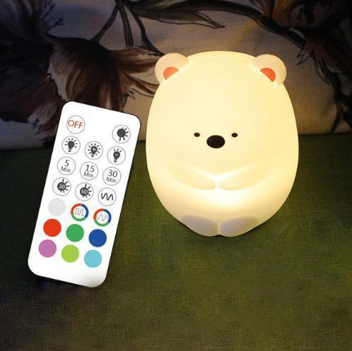 """Силиконовый ночник-игрушка """"Умка""""  3DTOYSLAMP"""