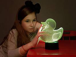 """Сменная пластина для 3D светильников """"Уточка"""" 3DTOYSLAMP"""