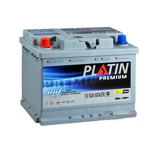 АКБ PLATIN 6СТ- 60Aз 600A L+ 242*175*190 Premium