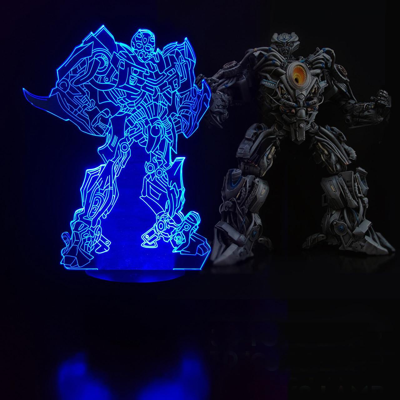 """Сменная пластина для 3D светильников """"Трансформер 2"""" 3DTOYSLAMP"""