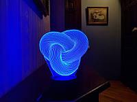 """Сменная пластина для 3D светильников """"Уроборос"""" 3DTOYSLAMP, фото 1"""