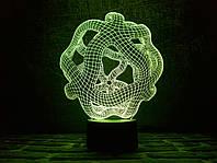 """Сменная пластина для 3D светильников """"Онис"""" 3DTOYSLAMP, фото 1"""