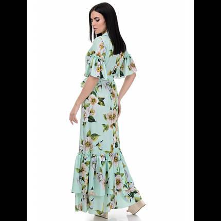 Платье, цвет мята, фото 2