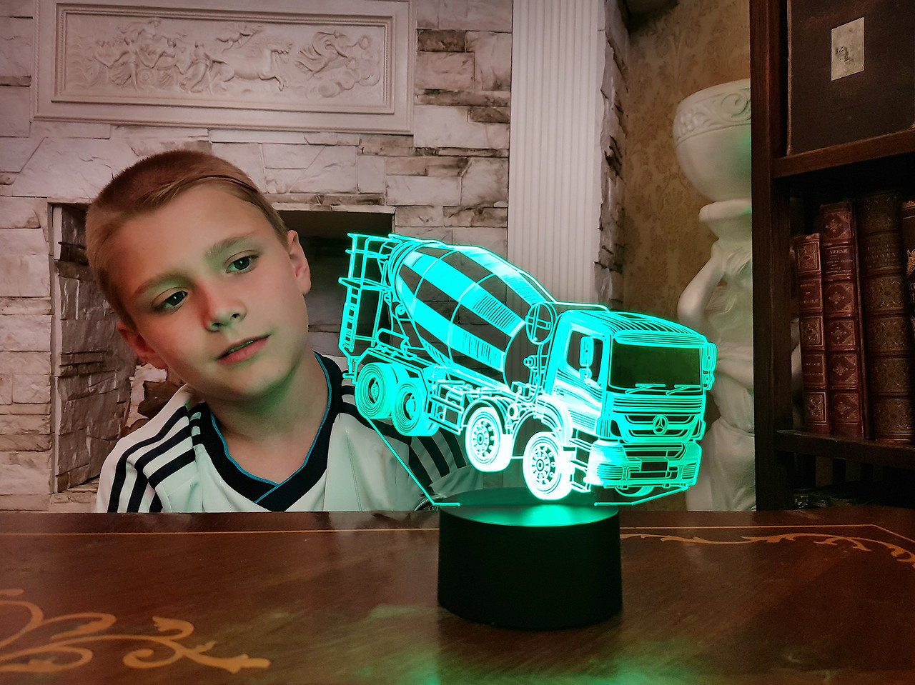 """Сменная пластина для 3D светильников """"Автомобиль 36"""" 3DTOYSLAMP"""