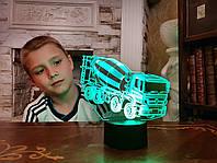 """Сменная пластина для 3D светильников """"Автомобиль 36"""" 3DTOYSLAMP, фото 1"""