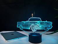 """Сменная пластина для 3D светильников """"Автомобиль 20"""" 3DTOYSLAMP, фото 1"""