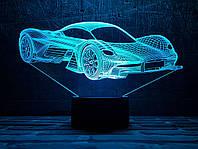 """Сменная пластина для 3D светильников """"Автомобиль 34"""" 3DTOYSLAMP, фото 1"""