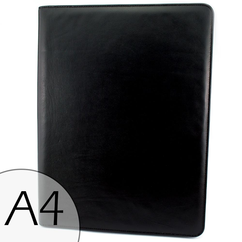 Папка для документов кожаная А4 Crez-701 black