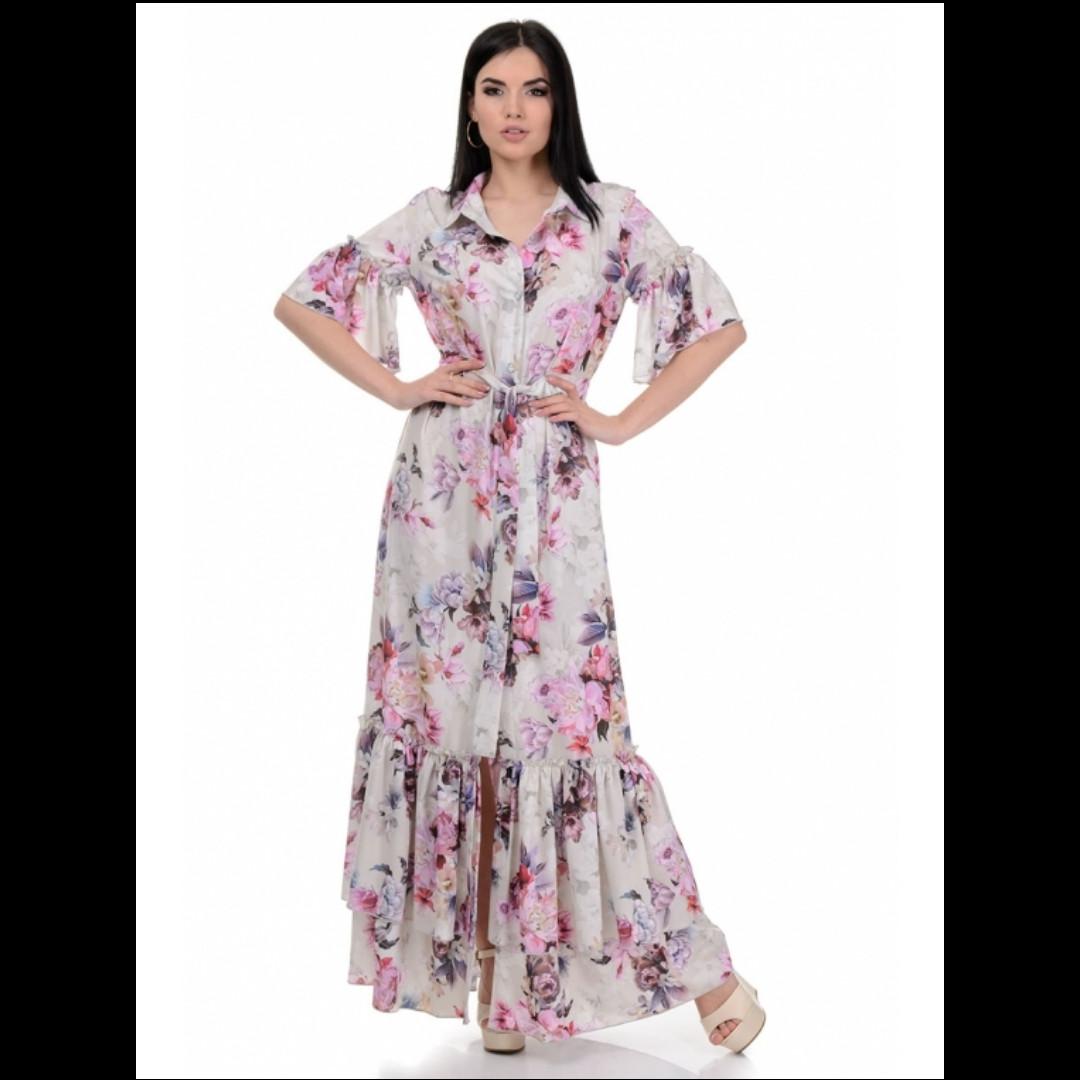 Платье, цвет беж