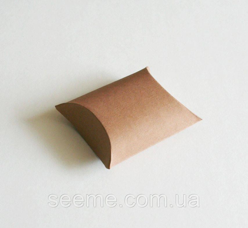 Коробка - подушка из крафт картона, 50х60х22 мм