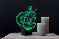"""Сменная пластина для 3D светильников """"Бокс"""" 3DTOYSLAMP, фото 1"""