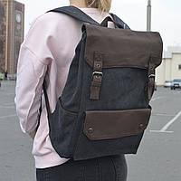 """Большой рюкзак для путешествий, городской, повседневный """"Сейбл Gray"""", фото 1"""