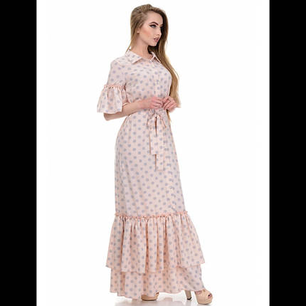 Платье, цвет горох, фото 2