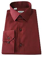 Рубашка приталенная №10-12  Dacron 197